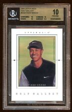 BGS 10 PRISTINE TIGER WOODS 2001 UD RC GOLF GALLERY #GG4  AMAZING RC CARD OF TW