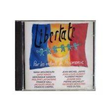 """CD """"LIBERTATE - POUR LES ENFANTS DE ROUMANIE"""" Jeanne MAS, Nana MOUSKOURI, DUTEIL"""