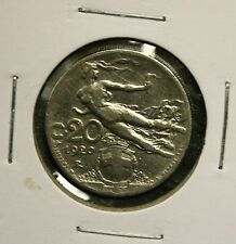 1920 - ITALY - 20 CENTESIMI - POST WW1 COIN