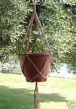 Macrame Plant Hanger 30in Vintage ** SAND **  (4mm)