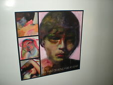 The PAINS OF BEING PURE AT HEART rare POSTERS flat for album cd gig show belong