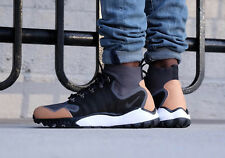 NIKE AIR ZOOM TALARIA MID FK PRM Trainers - Black Vachetta Tan - UK 12 (EU 47.5)