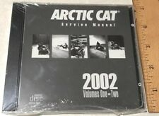 2002 Arctic Cat Snowmobile Volume 1 & 2 Oem Service Manual Cd P/N # 2270-061 New