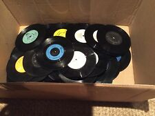 RECORDS VINYL SINGLES FOR RECYCLING OR FOR CRAFTS x50