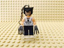 Marvel Wolverine Lego Minifigure Keyring UK SELLER