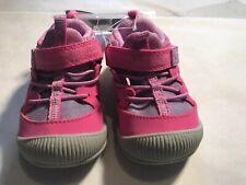 OshKosh Bgosh Toddler Girls Abis Pink Sneakers Shoes size 5