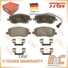 FRONT DISC BRAKE PAD SET FOR FIAT CROMA 194 TRW OEM 77363627 GDB1636 HEAVY DUTY