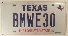 Vanity BMW E30 license plate Bayrische Motoren Werke 3 Series M3 S14 German Car