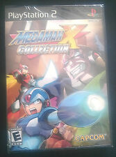 Mega Man X Collection (Sony PlayStation 2, 2006) NEW