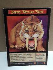 4x Tigre dai Denti a Sciabola Sabretooth Tiger FoW Force of Will 1-063 C