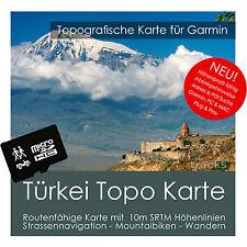Türkei Topo Karte 10m Höhenlinien 4GB microSD für Garmin Navi, PC & MAC