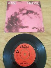 """PHIL EVERLY Louise 1982 7"""" Vinyl VG+"""