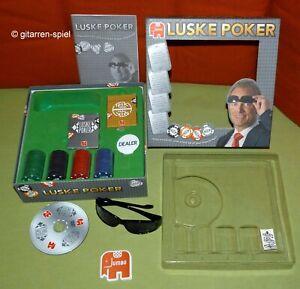 Luske Poker - Unbespielt Komplett 1A Top! Mit DVD & cooler Luske Sonnenbrille!