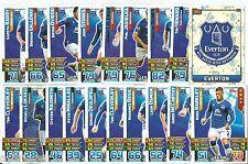 2015 / 2016 EPL Match Attax EVERTON Master Set (61 Cards)