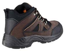 Chaussures de sécurité de travail marrons pour bricolage Homme