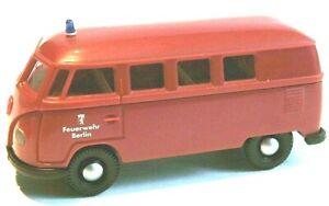 "Brekina VW T1  - Neuwertig - ""Feuerwehr Berlin"""