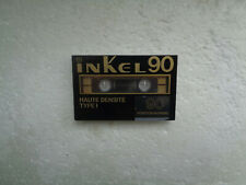 Vintage Audio cassette INKEL Haute Densité 90 * Rare From 1980's *