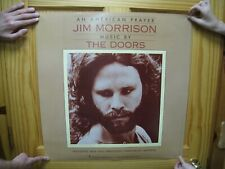 Jim Morrison Poster The Doors An American Prayer Face Shot 2 Two Sided