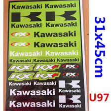 Kawasaki Sticker Decal Car Motorised Bike Dirt ATV Quad Motorcycle Scooter Motor
