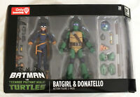 Batgirl & Donatello Batman TMNT Gamestop Exclusive Nickelodeon DC 2-Pack Turtles