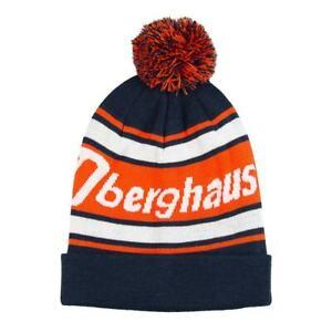 Berghaus Beanie (Dark Blue And Orange)