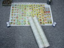 2 DIFFERENT 1933 GOUDEY 1983 REPRINT BASEBALL CARD UNCUT SHEETS - NEAT DISPLAY
