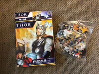 Thor The Mighty Avenger 100 Piece Jigsaw Puzzle- Marvel Universe- New In Box