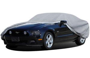 2 Door 08 3 Layer Car Cover Outdoor Water Proof Rain Sun Fits Dodge Challenger