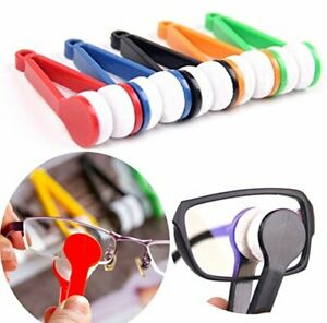 x1-3 Lens Microfibre Optic Brush Wipers Cleaner Glasses Spectacles Eyeglasses UK