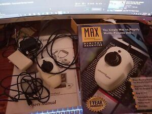 Enhanced Vision Max Portable Digital Color Low Vision Zoom Magnifier
