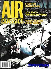 Air Classics May 90 Marine Pilot Joe Foss Benito Mussolini Hitler FW-200 Kondor