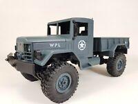 WPL B14 RC Car 1/16 Rock Crawler Off-Road 4WD 2.4G Military Truck BLUE RTR UK.