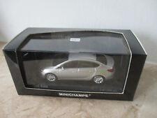 Modellauto MINICHAMPS Opel Astra 2012 4-Door Argonsilber  Maßstab 1:43 mit OVP