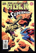 INCREDIBLE HULK VS SUPERMAN 1ST PRINT NM+ NEVER READ MRVEL COMICS