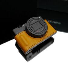 Gariz Leather half case Sony RX100M6 RX100VI 6th Gen HG-RX100M6MT Mustard