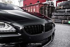 schwarze Nieren hochglänzend 6er BMW F12 Cabrio Frontgrill salberk 1006DL
