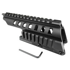 Remington 870 Shotgun 12ga Double Picatinny Rail Scope-Sight Saddle Mount UK