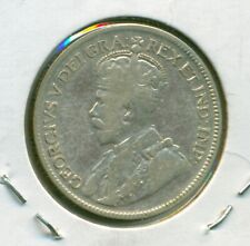Canada 25 cents 1927 F