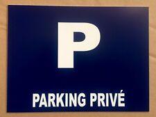 """panneau """"PARKING PRIVÉ"""" signalétique"""