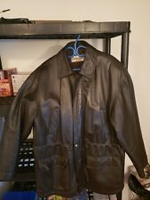 Coppola Classics Men Leather Jacket Size L.