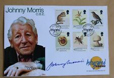 ENDANGERED SPECIES 1998 AUTOGRAPHED EDITIONS FDC SIGNED BY JOHNNY MORRIS