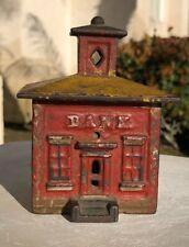 New Listing1872 J & E Stevens. Cupula Building Bank Antique Cast Iron Still Bank - Med
