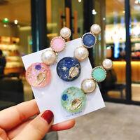 Fashion Star Hair clip Hair pin Bobby pin Hair Accessories Milky Way Pearl Girls
