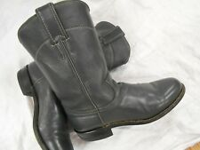 Barely Worn JUSTIN GRAY ROPER WOMENS Leather Cowboy Boots Sz 6.5 B