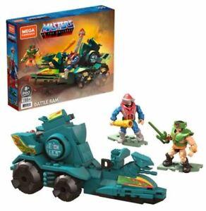 Mega Construx Masters of the Universe Battle Ram w/ Tri Klops & Mekaneck Figures