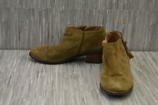 VIONIC Serena Ankle Booties - Women's Size 8.5 - Olive