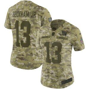 Nike Womens New York Giants Odell Beckham Jr Salute To Service Jersey Med  $170