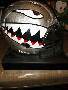 2017 Air Force Falcons Football Shark Mouth Air Power Legacy Mini Helmet Replica