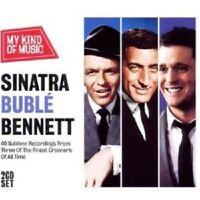 "FRANK SINATRA, MICHAEL BUBLE,TONY BENNETT""SINATRA BUBLE BENNETT-MY .."" 2 CD NEU"