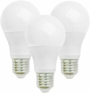 LED GLS Light Bulbs, E27 Large Screw 13W 80w equivalent 3 Pack Lamps Cool White